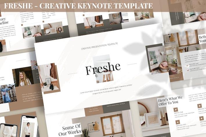 Thumbnail for Freshe - Creative Keynote Template