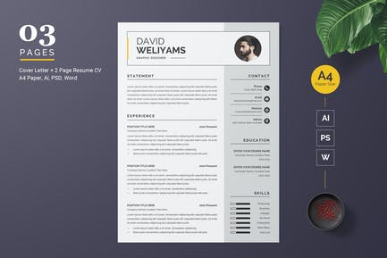 Professional and Clean Resume Template