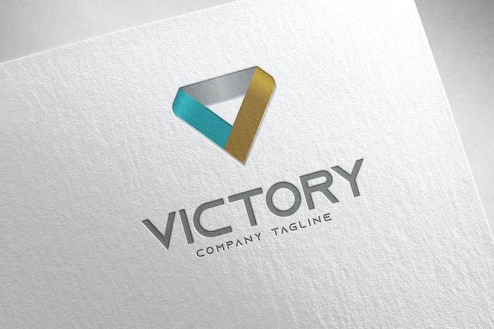 Victory Logo by MONOGRPH on Envato Elements