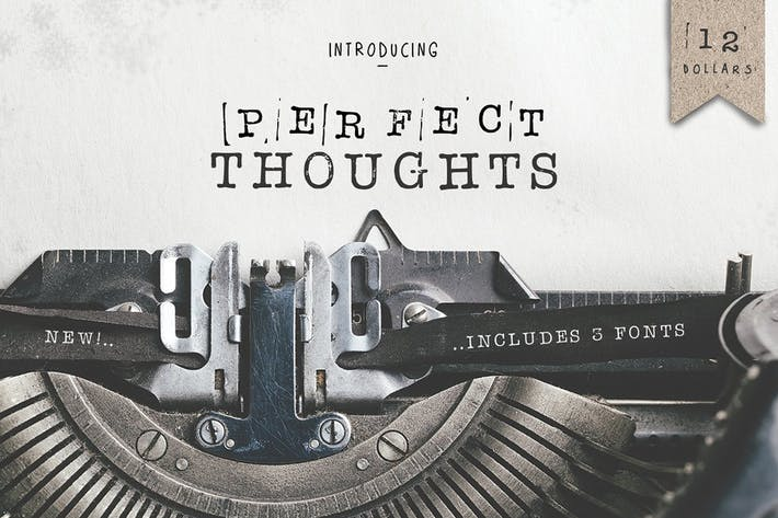 Thumbnail for Perfect Thoughts Font