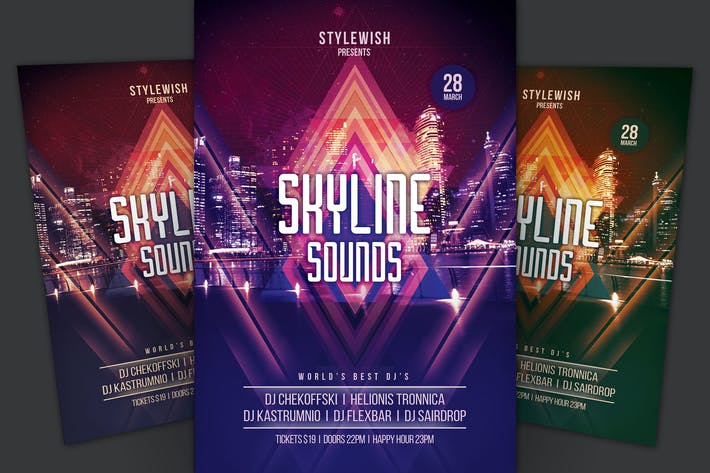 Thumbnail for Skyline Sounds Flyer