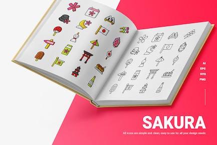 Sakura Festival - Icons