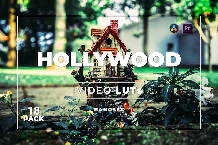 Bangset Hollywood Pack 18 Video LUTs