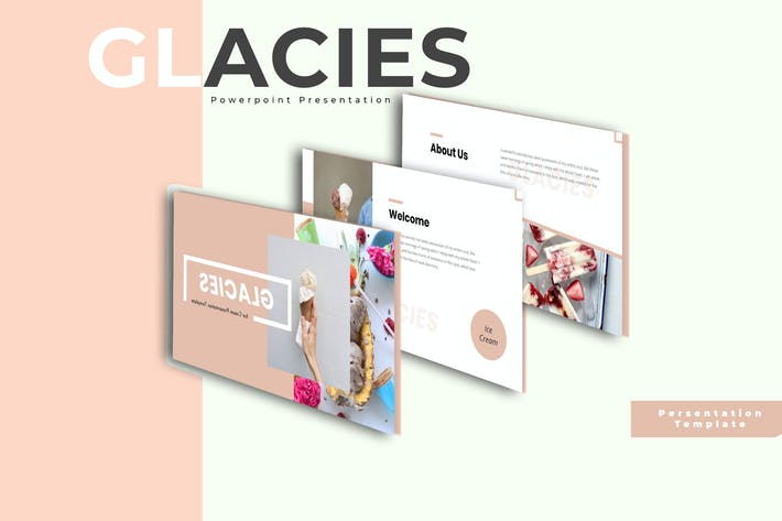 Thumbnail for Glies - Мороженое PowerPoint Шаблон