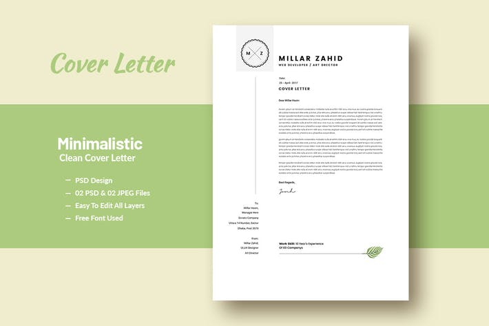 Thumbnail for Минималистичное чистое письмо
