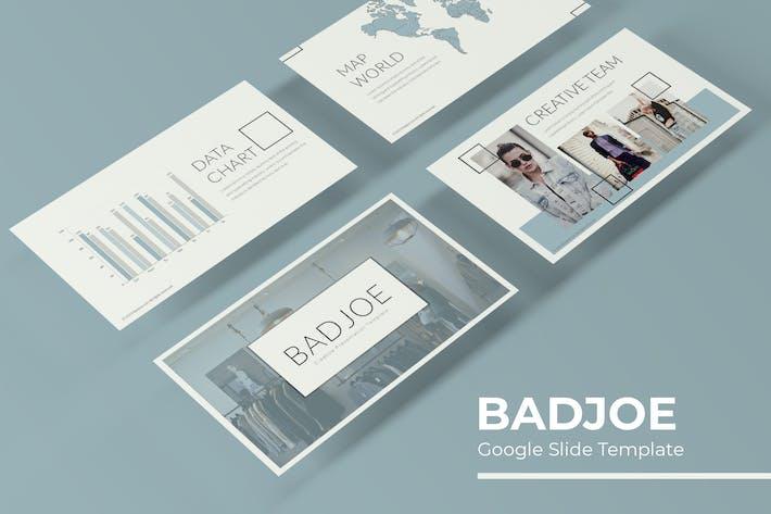 Cover Image For Badjoe - Google Slide Template