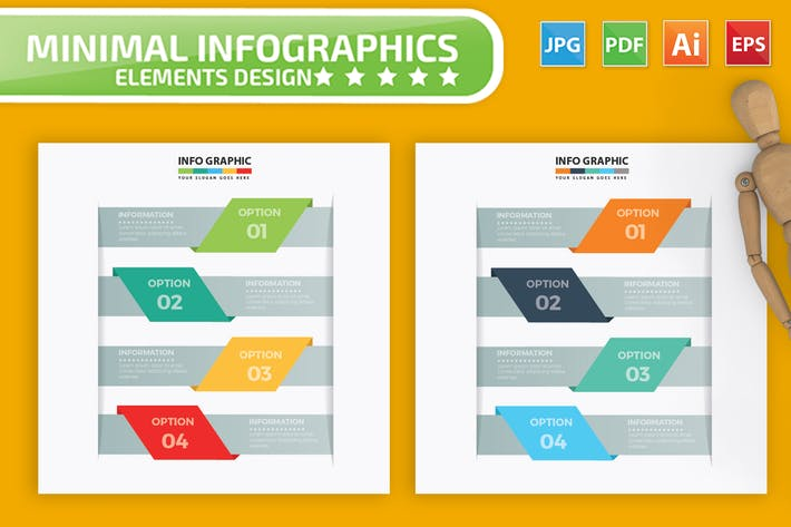 Thumbnail for Label Infographics Design