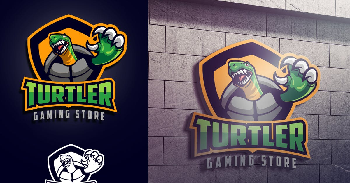 Download Turtle Mascot Esports or Sports Logo by Suhandi