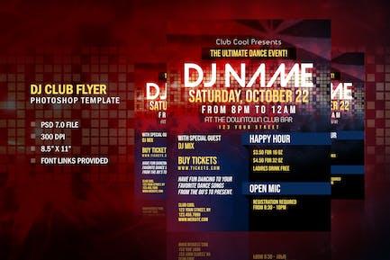 DJ Club Entertainment Flyer