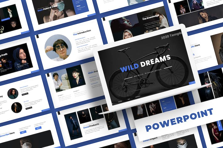 Thumbnail for Wild Dreams - Powerpoint Template