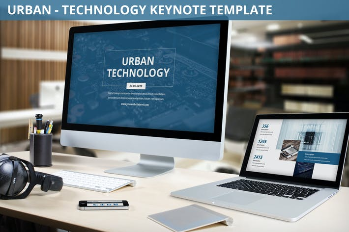 Thumbnail for Urban - Technology Keynote Template