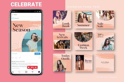 Celebrate - Instagram Feed Pack