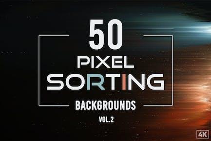 50-Pixel-Sortierungshintergründe - Band 2