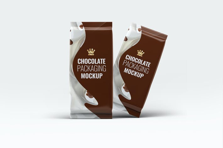 Thumbnail for Chocolate Packaging Mock-Up