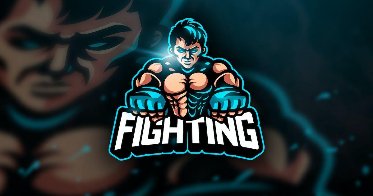Download UFC Fighting - Mascot & Esport Logo by aqrstudio