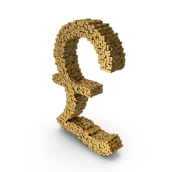 Символ Voxel фунт