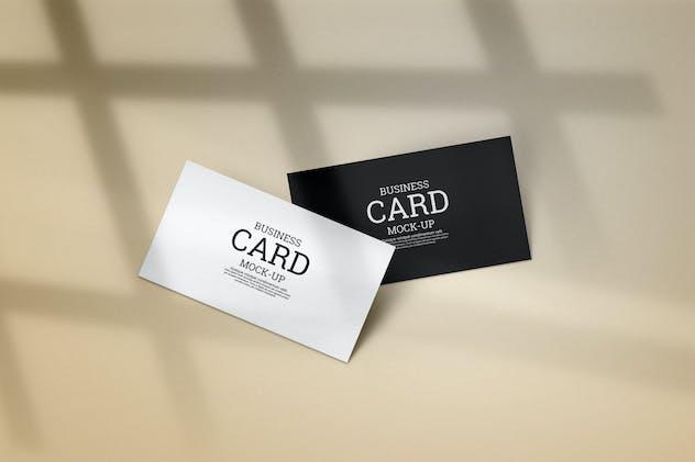 Minimal business card mockup m1