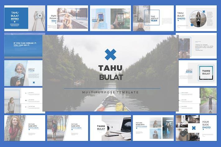 Thumbnail for Tahu Bulat Multipurpose Template