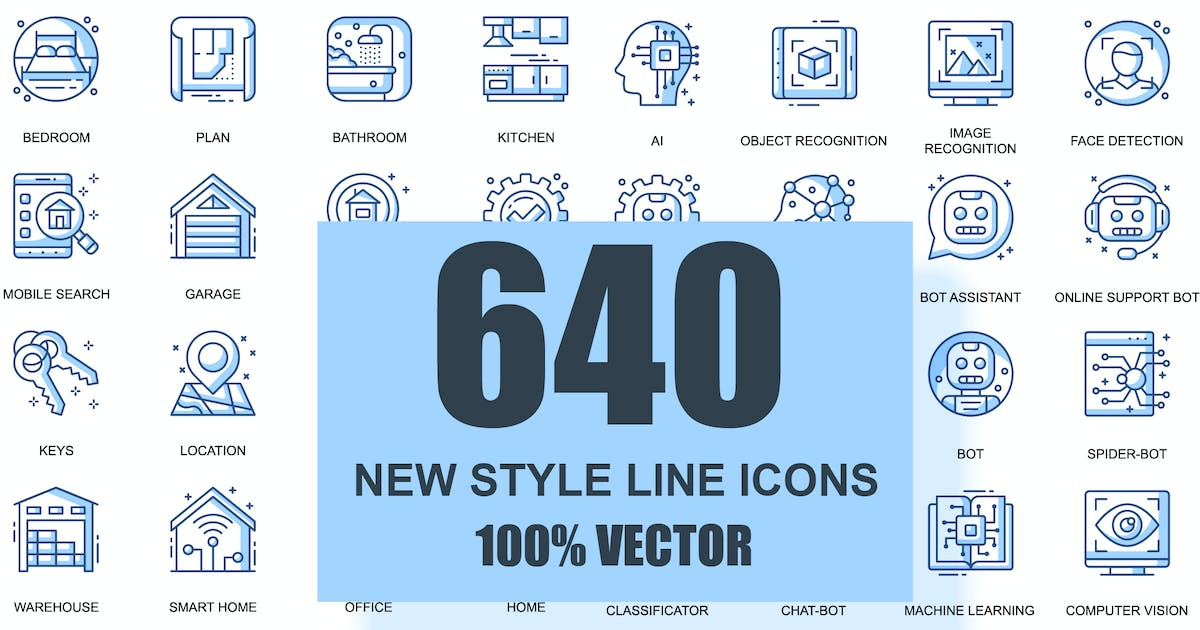 Download BIG Collection Business Thin Line Icons by alexdndz