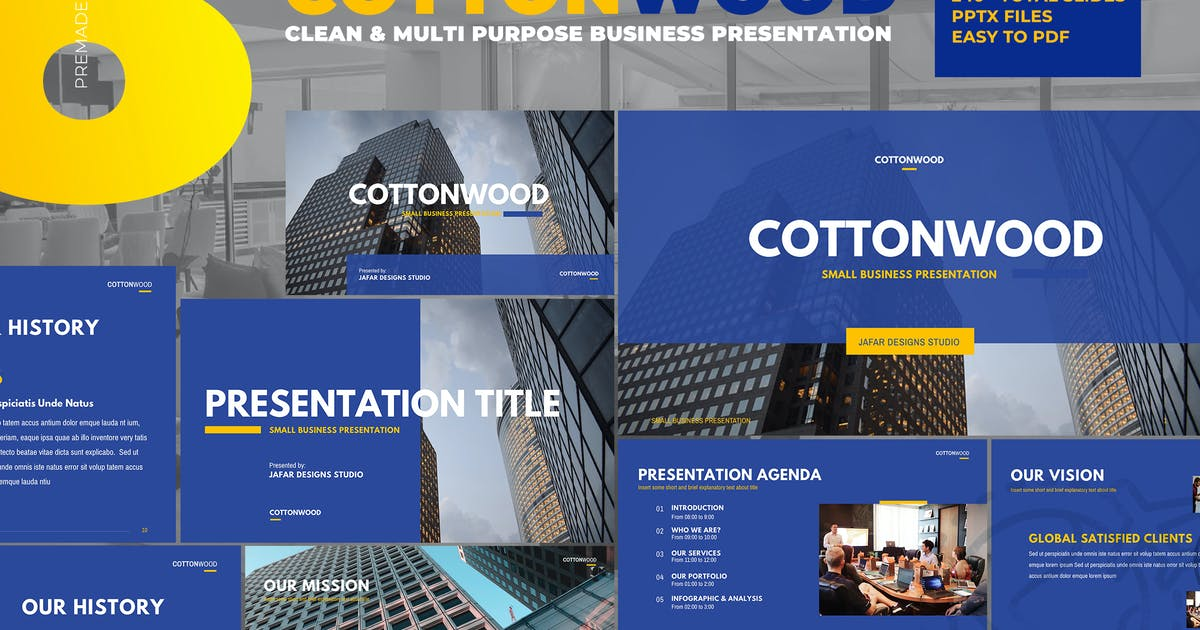 Download CottonWood - Company Profile Powerpoint by afahmy