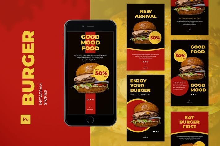 Burger Instagram Story