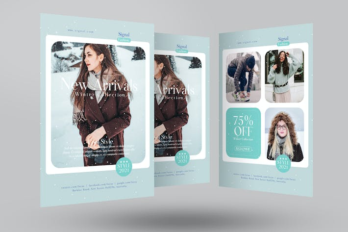 Thumbnail for Winter Fashion Sale Flyer
