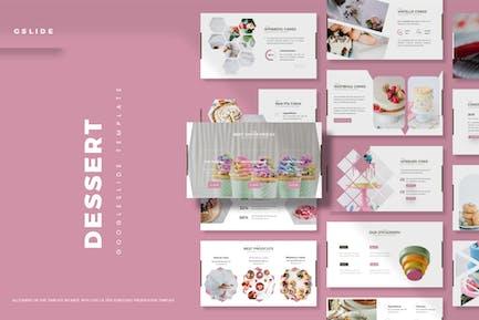 Dessert - Google Slides Template