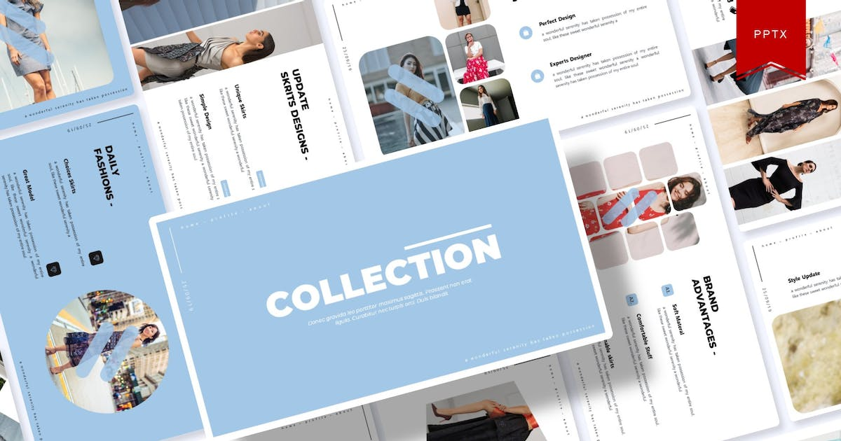 Download Collection | Powerpoint Template by Vunira