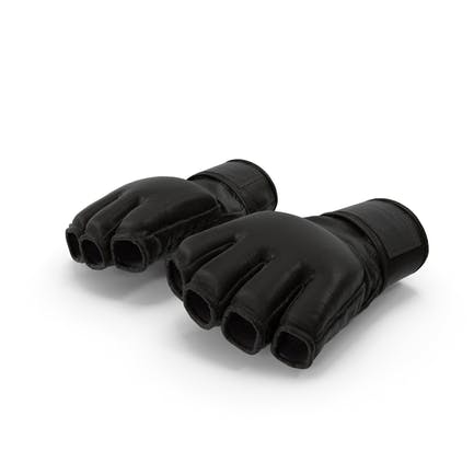 Leather Fight Gloves