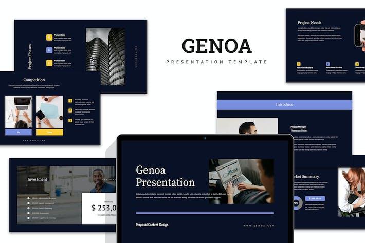 Thumbnail for Генуя: Бизнес Powerpoint