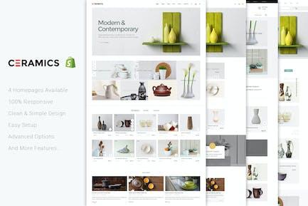 Jms Ceramics - Responsivo Shopify Tema