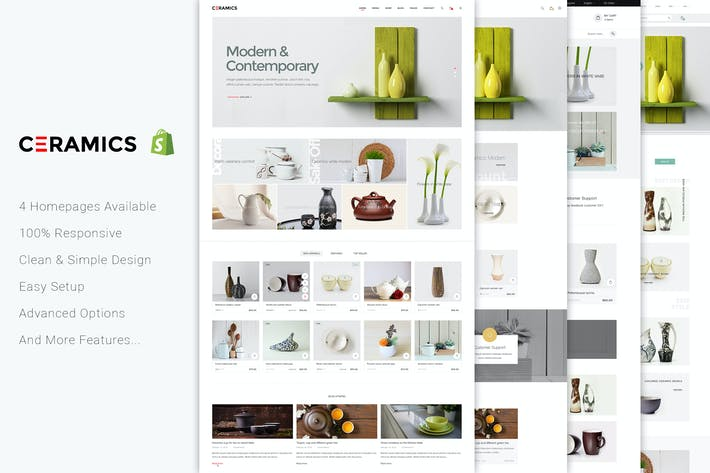 Thumbnail for Jms Ceramics - Responsivo Shopify Tema