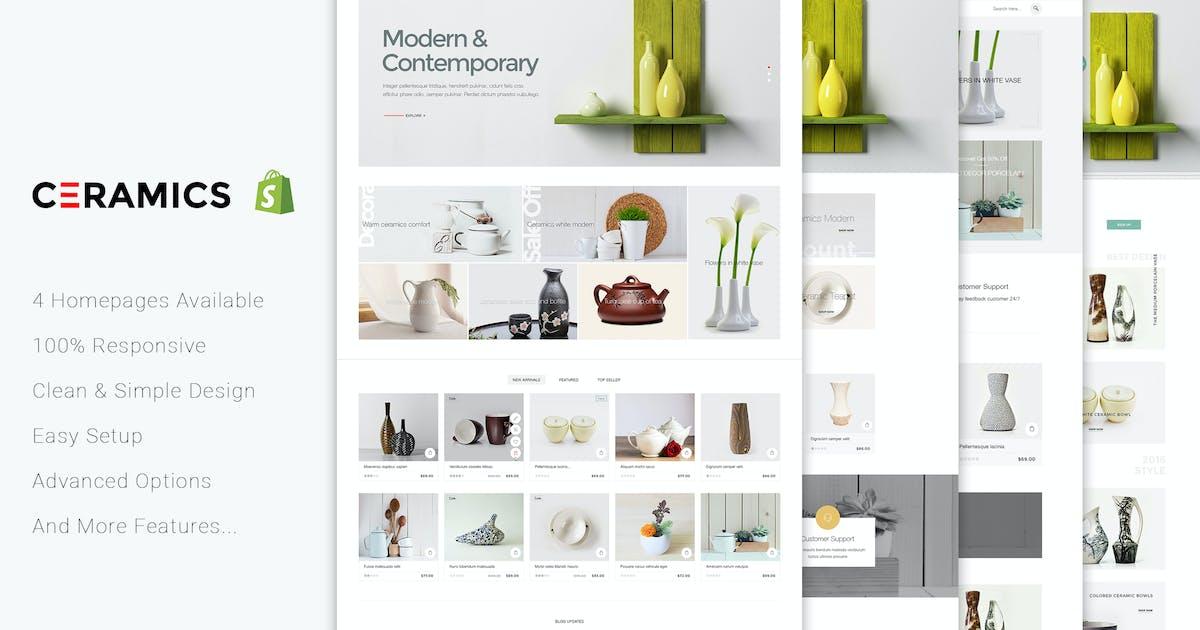 Jms Ceramics - Responsive Shopify Theme by joommasters