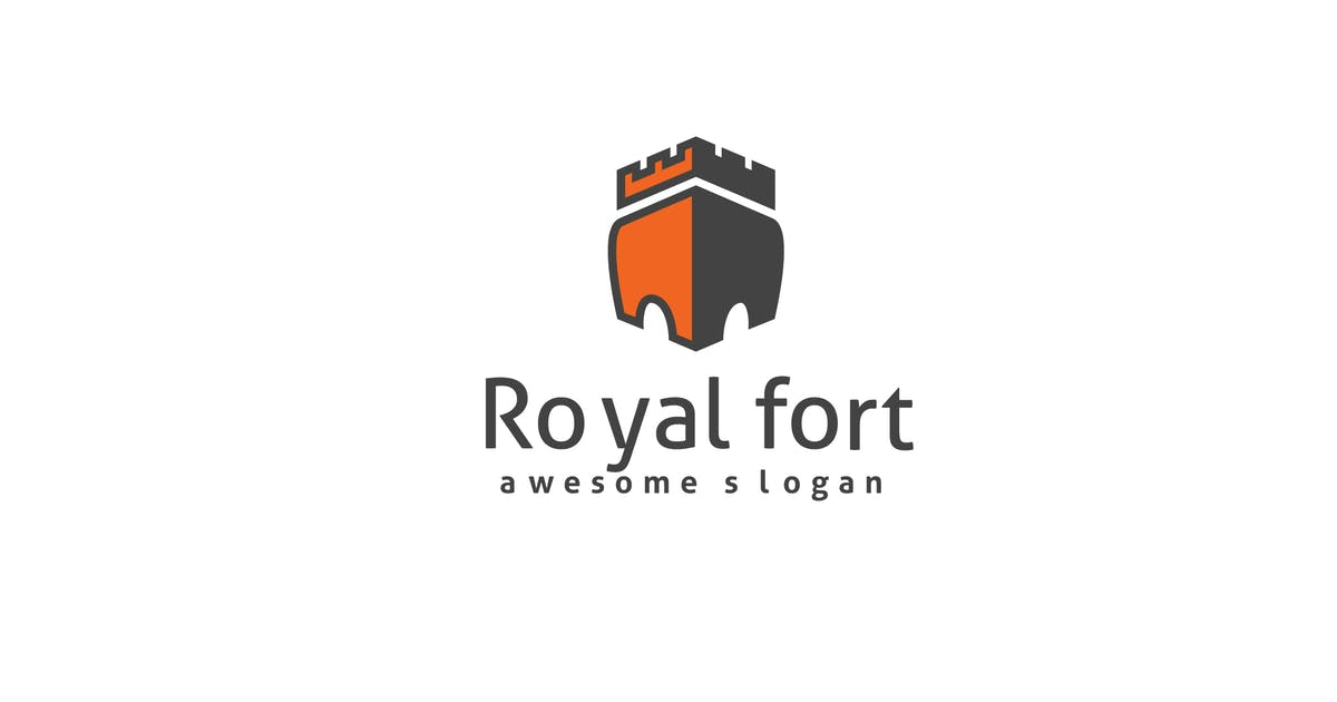 Download Royal Fort Logo Template by Be_Themes