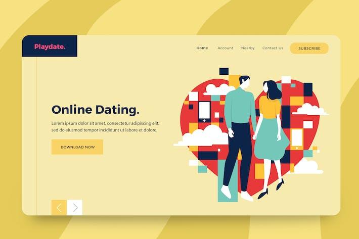 Thumbnail for Dating App Vector Illustration