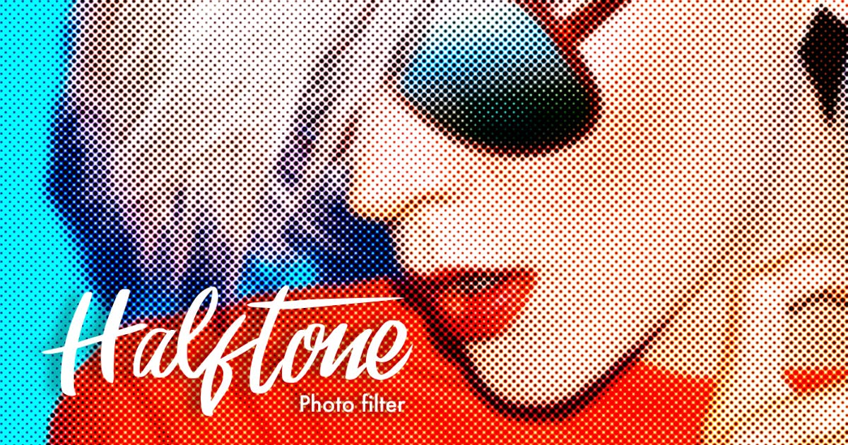 Download Halftone Photoshop Actions by micromove