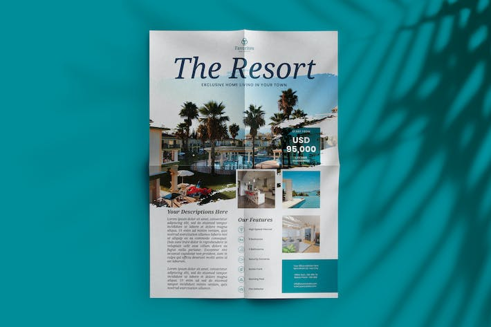 Thumbnail for Resort or Real Estate Flyer