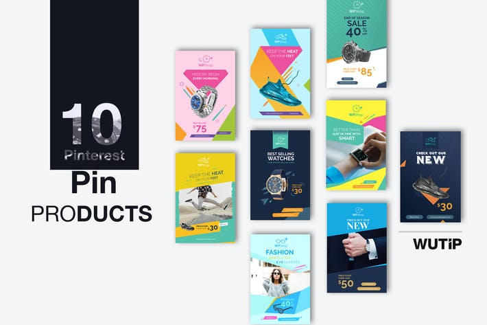 Thumbnail for 10 Pinterest Pin Banner-Products
