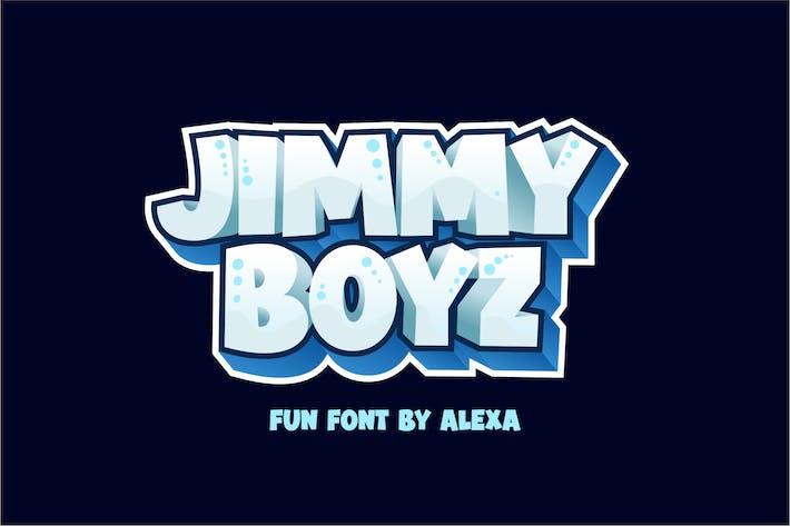 Thumbnail for JIMMY BOYZ - Bold and FUN font