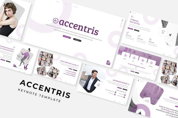 Thumbnail for Accentris - Plantilla de Keynote