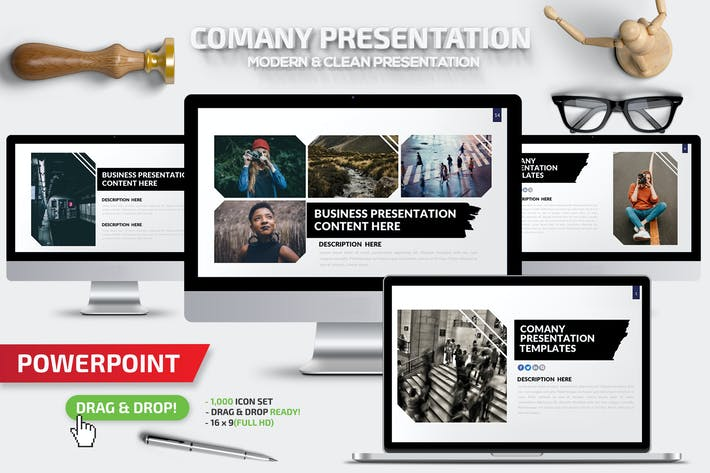 Thumbnail for Powerpoint компании