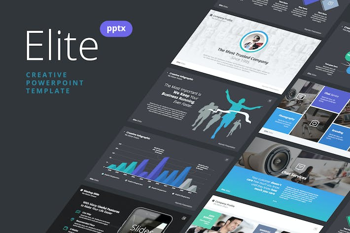 Cover Image For Slides Elite - Powerpoint Template