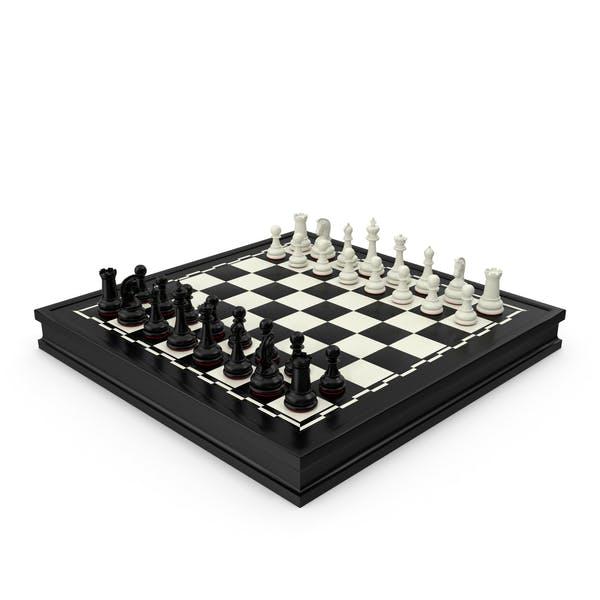 Chess Red Border Black
