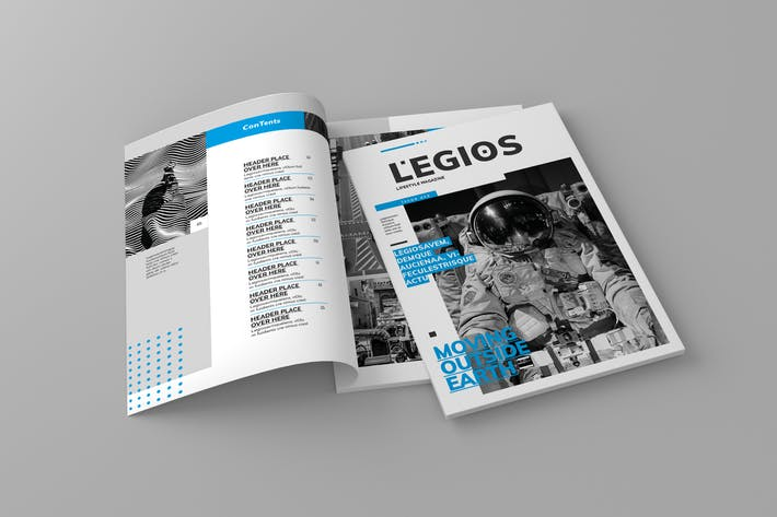 Thumbnail for Legios - Magazine Template