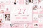 Pink Fashion - Instagram Posts & Stories