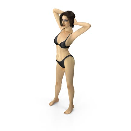 Bikini Girl Sexy Pose