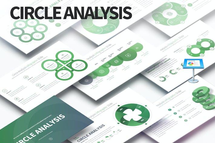 Thumbnail for Circle Analysis - Keynote Infographics Slides