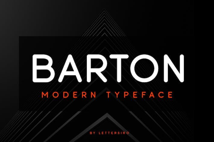 Thumbnail for Barton Font