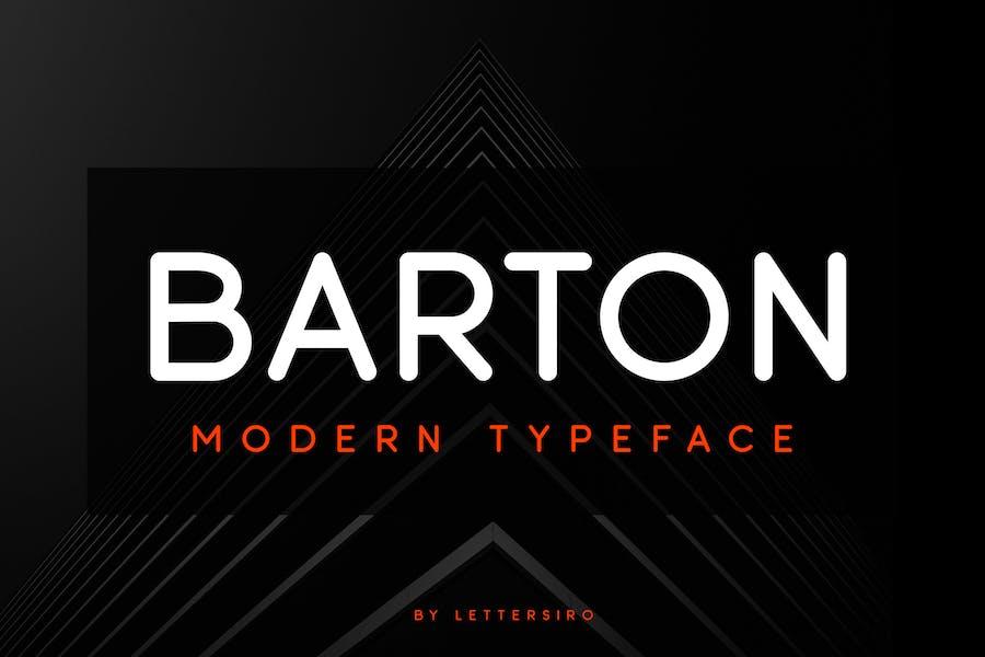 Barton Font