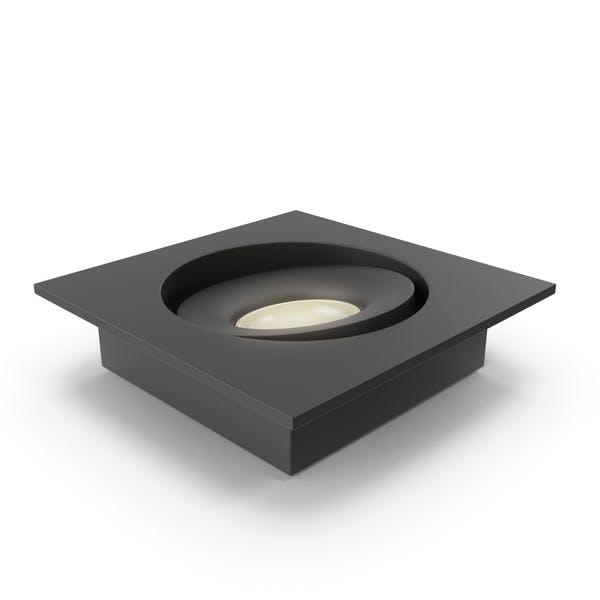 Integrated Spot Light Black
